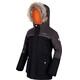 Regatta Paxton Waterproof Jacket Kids Black/Dust Marl